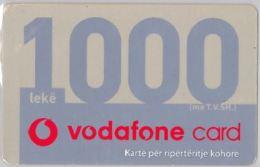 PREPAID PHONE CARD ALBANIA -VODAFONE (E16.5.7 - Albania