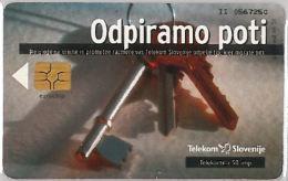 PHONE CARD  SLOVENIA (E16.23.1 - Schede Telefoniche