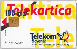 PHONE CARD  SLOVENIA (E16.23.4 - Other - Europe