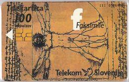 PHONE CARD  SLOVENIA (E16.23.6 - Schede Telefoniche