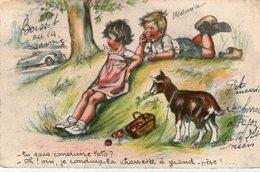 (64)  CPA Bouret Germaine Tu Sais Conduire Toto  (Bon Etat) - Bouret, Germaine