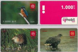 LOT 4 PREPAID PHONE CARD-  SLOVENIA (E16.26.5 - Schede Telefoniche