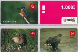 LOT 4 PREPAID PHONE CARD-  SLOVENIA (E16.26.5 - Phonecards