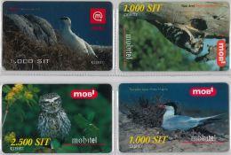 LOT 4 PREPAID PHONE CARD-  SLOVENIA (E16.27.1 - Phonecards