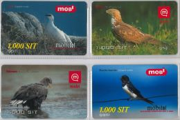LOT 4 PREPAID PHONE CARD-  SLOVENIA (E16.27.5 - Phonecards