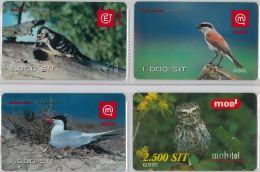 LOT 4 PREPAID PHONE CARD-  SLOVENIA (E16.28.1 - Schede Telefoniche