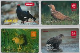 LOT 4 PREPAID PHONE CARD-  SLOVENIA (E16.28.5 - Phonecards