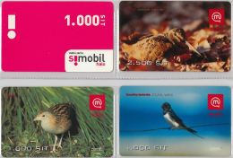 LOT 4 PREPAID PHONE CARD-  SLOVENIA (E16.29.1 - Phonecards