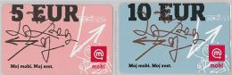 LOT 2 PREPAID PHONE CARD-  SLOVENIA (E16.29.7 - Phonecards