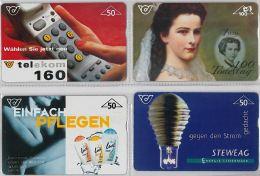 LOT 4 PHONE CARD-   AUSTRIA (E17.15.5 - Oesterreich