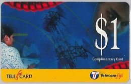 PHONE CARD  FIJI (E17.29.7 - Figi