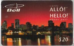 PREPAID PHONE CARD-  CANADA (E18.8.8 - Canada