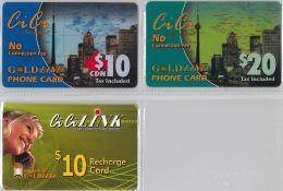 LOT 3 PREPAID PHONE CARD-  CANADA (E18.10.5 - Canada