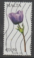 Malta 2015 Maltese Flora - Flowers 0.59 € SW:1897 Multicolored O Used - Malta
