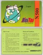 PREPAID PHONE CARD-  NIGERIA (E20.21.1 - Nigeria