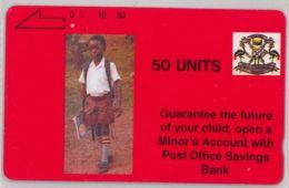 PHONE CARD-  UGANDA (E20.26.2 - Uganda