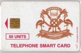 PHONE CARD-  UGANDA (E20.26.6 - Uganda