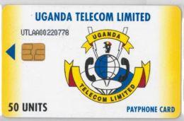 PHONE CARD-  UGANDA (E20.27.1 - Uganda