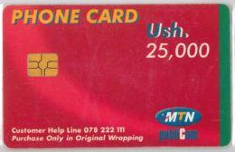 PHONE CARD-  UGANDA (E20.27.2 - Uganda