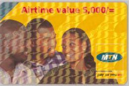 PREPAID PHONE CARD-  UGANDA (E20.27.4 - Uganda