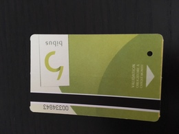 Ticket De Tramway Brest - Metropolitana