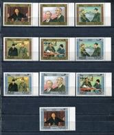 Sharjah 1970 Mi # 633 - 642 Charles De Gaulle Set Of 10 Stamps MNH - Sharjah