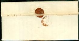 HANDGESCHREVEN BRIEF Uit 1856 Gelopen Van MAASTRICHT Aan ZIJNE EXCELLENTIE MINISTER VAN FINANCIEN Te 's-Hage  (10.905) - Periode 1852-1890 (Willem III)