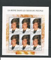 DJIBOUTI Scott 775 Michel 645 (bloc De 6) ** Cote 25,00 $ 1998 - Djibouti (1977-...)