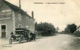 Villefargeau Route Nationale Et L'auberge - Autres Communes