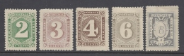 LIBERIA 1886 Nº 19/23 - Liberia