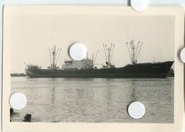 1  Bateau MALAGA  Transporteur Cargo  Paquebot à Identifier Scan Dos Au Pelerin La Loire  Le Pellerin 44 ? - Bateaux