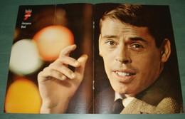 POSTER Du Magazine TELE 7 JOURS : Jacques BREL - Plakate & Poster