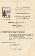"""""""JEUNE DE FRANCE! SOIS LE BIENVENU AU GROUPEMENT,SON NOM EST """"BELLEDONNE"""" ..CHANTIERS DE JEUNESSE JUILLET 1943 - Documents"""
