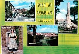 72762182 Paliano Corso Umberto Costume Ciociano Panorama Monumento Caduti Frosin - Italien