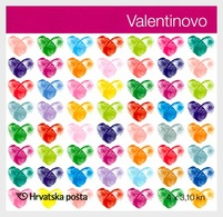 Croatia 2012 Stamp Booklet - Valentine's Day 2012 - Croatia
