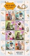 Croatia 2018 Sheetlets - Children's World - Pets - Cats II - Kroatië