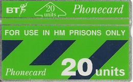CARTE+GB-HOLOGRAPHIQUE-PRISONS-20U-V° N°177B59686 A L Envers-NEUVE-TBE - Ver. Königreich