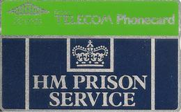 CARTE+GB-HOLOGRAPHIQUE-HM PRISON SERVICE-20U-V° N°950E96376 A L Envers-NEUVE-TBE - Ver. Königreich