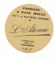 Avr18   14021  étiquette  Fromage   L'atomic - Cheese