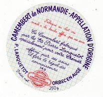 Avr18   14006 A   étiquette Camembert  De Normandie 14 U - Cheese