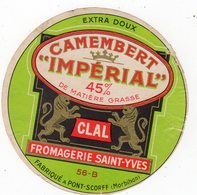 Avr18   56031   étiquette  Camembert Impérial  CLAL - Cheese