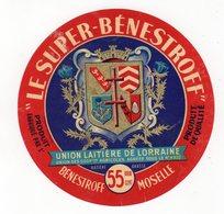 Avr18   57023   étiquette  Camembert   Le Super Bénestroff 55 % - Cheese