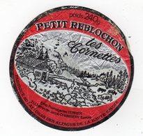 Avr18   742005   étiquette Petit Reblochon - Cheese