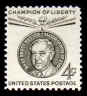 USA,1959, Scott #1136, Ernst Reuter, MNH, VF - United States