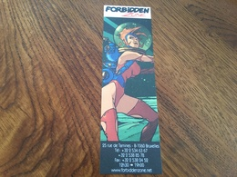 Marque Page Forbidden Zone - Bookmarks