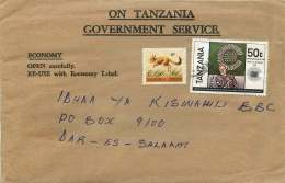 1983  Official Cover - Commonwealth Day, Hare - Tanzania (1964-...)