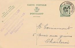 Bourg-Léopold ,carte Publicité ,Mathieu Vancan ,quincaillerie - Poelerie - Leopoldsburg