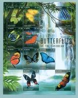 St-Kitts 2013  Mnh*** - Butterflies