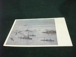 NAVE SHIP GUERRA SQUADRA SEITS GEFECHT IN DER OTRANTOSTRABE AM 15 MAI 1917 EINLAUFEN NACH DEM GEFECHT - Guerra