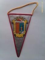 Banderín De Aiguafreda. Barcelona. Cataluña. España. Años '60-'70 - Escudos En Tela